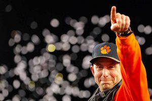 dabo swinney clemson football